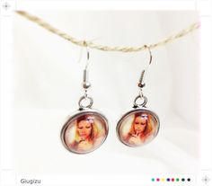 Margot Tenenbaum inspired earrings Check my blog to see the full Tenebaums parure http://giugizu.blogspot.it/2013/07/royal-tenenbaum-inspired-accessories.html