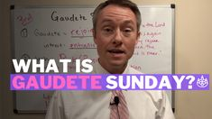 What is Gaudete Sunday? Video 3 Things to Know about the Sunday of Advent: What does Gaudete mean? Why pink? Why the Sunday? 3 Things, Things To Know, Third Sunday Of Advent, Latin Meaning, Catholic Religious Education, Entrance Songs, Advent Activities, Catechist, Advent Season