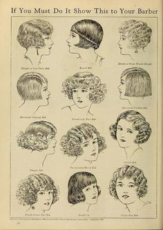 MARUMBY, Opereta Cômica: A ousadia dos cabelos curtos - melindrosas anos 20