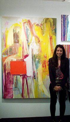 "Saatchi Art Artist Diana Delgado; Painting, ""at Affordable Art Fair, NYC  2010"" #art"