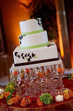 Diy ribbon wine glass markers crafts put the able in adorable diy cake stand weddings do it yourself wedding forums weddingwire solutioingenieria Choice Image