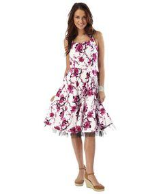 LD566 - Japanese Blossom Dress  - Japanese Blossom Dress, Women's Dresses, Women's Clothing, Clothing, Accessories, Joe Browns