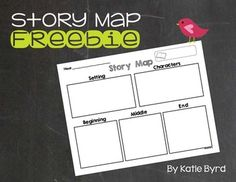 This is such a useful little sheet!  It is a blank story map to use with any book you choose.  It can be a way for students to record these story elements from a book they have read in class, or it can be a planning page for fiction writing.  I hope it is a helpful resource for your classroom.