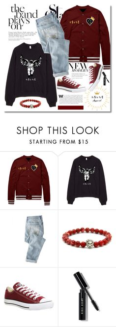 """""""NSVNE"""" by dora04 ❤ liked on Polyvore featuring Wrap, Converse, Bobbi Brown Cosmetics, nsvne and nsvneapparel"""