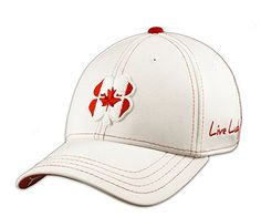5cb076b735f Black Clover LIVE LUCKY Canada Cap Hat LXL 1 WhiteRed     Read more at