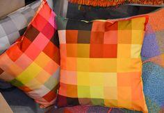 M+O Graphic Pillows