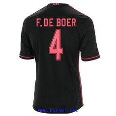 Maillot de foot AFC Ajax Exterieur 2013 2014 (4 F.De Boer) Noir Pas Cher http://www.korsel.net/maillot-de-foot-afc-ajax-exterieur-2013-2014-4-fde-boer-noir-pas-cher-p-3353.html