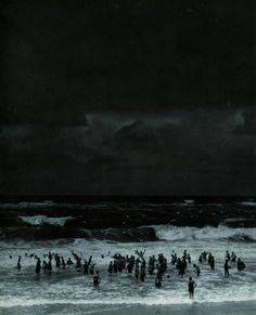 "last-picture-show: "" ""Martin Munkacsi, Beach before the Storm, 1930 "" """