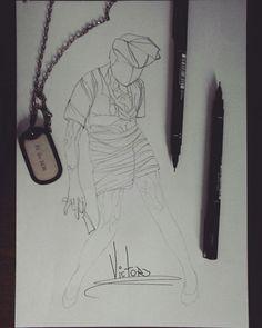 Desenho finalizado SILENT HILL