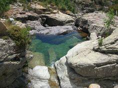 Corsica - Fleuves et Rivieres - Ruisseau de Ziocu - Canyon Ziocu , Soccia en Corse du Sud.
