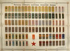 6 января 1943 года в СССР Указом Президиума Верховного совета СССР были введены погоны для личного состава Советской Армии.  Впервые в России погоны появились на военной одежде при Петре I. С 1762 года была предпринята попытка сделать погон средством различения солдат и офицеров.