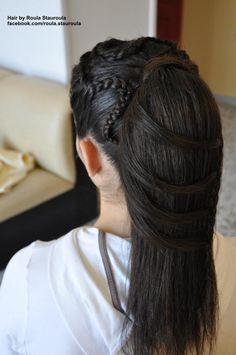 Hair by Roula Stauroula  www.facebook.com/...
