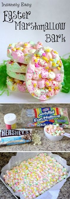 Easter Marshmallow Bark…