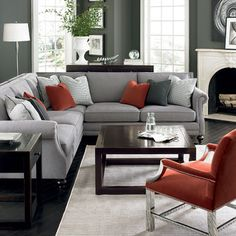 Bernhardt (Vendors) - Contemporary - Sofas - charlotte - by Good's Home Furnishings