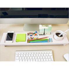 ESSO - stolný drevený organizér, biela povrchová úprava Bratislava, Home Office, Organisation, Home Offices, Office Home
