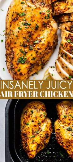 Clean Dinner Recipes, Dinner Recipes Easy Quick, Beef Recipes For Dinner, Easy Healthy Dinners, Turkey Recipes, Healthy Dinner Recipes, Fried Chicken Breast, Chicken Breasts, Chicken Thigh Recipes