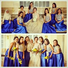 My bride and her entourage in custom embroidered pina boleros :) photos by Filipiniana Wedding, Wedding Gowns, Entourage, Wedding Designs, Bride, Disney Princess, Disney Characters, Photos, Boleros