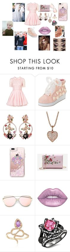 """Seventeen Woozi"" by btsloveforlife on Polyvore featuring Jones + Jones, Anabela Chan, Sydney Evan, Casetify, Lime Crime and Ross-Simons"