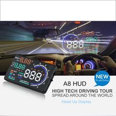 58.50$  Watch now - Car HUD Head Up Display For Audi A3 A4 A5 A6 A7 2015 2016 - Safe Driving Screen Projector Refkecting Windshield  #buyonlinewebsite