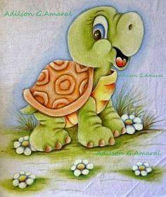 Afbeeldingsresultaat voor pintura em tecido fraldas