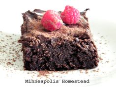 A Minneapolis Homestead: Raw Fudge Brownies (no bake, gf, paleo, vegan) Rec...