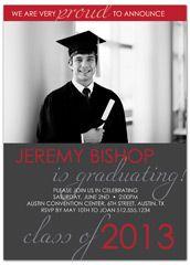 class of 2013 graduation announcement sample - Examples Of Graduation Invitations