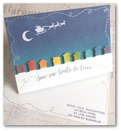 "Coul'Heure Papier: ""Colour Your World"" International Blog Hop - December [Tutoriel]"