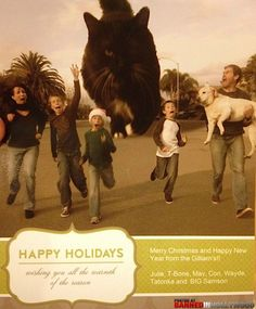 Seriously, the best Christmas card I have ever seen!