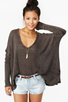 love sweater!