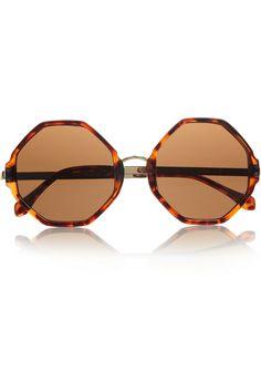Olympias tortoiseshell acetate sunglasses