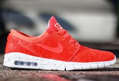 sports shoes 39dff fb827 Nike Sb Stefan Janoski Max Rouge Homme Pas Cher Nike Janoski Max, Best  Sneakers,