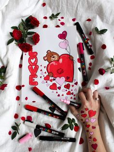 Valentines day OszlánszkiART Valentines Day, Playing Cards, Bullet Journal, Diy, Valentine's Day Diy, Bricolage, Valantine Day, Diys, Handyman Projects