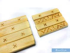 """I tried making Druid sticks for Geomancy using some wood, sand paper and a wood burning tool. I learned about this amazing technique from the lovely Kelly from """"The Truth in Story""""; check out her channel for more info: https://youtu.be/LW0HwHSoutg ♥!"""