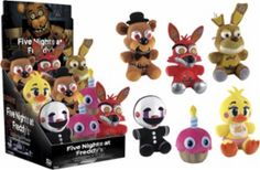 Funko - Five Nights At Freddy's Plush Set - Multi - Front Zoom