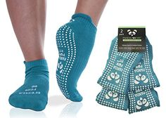 √ LUXURIOUS BREATHABLE COTTON BLEND yoga pilates barre socks absorbs sweat and keeps your feet cool and Dry Even In-Between Toes!! √ SAFE SECURE TRACTION GRIP yoga socks come with comfy arch support and generously covered grippy traction pads carefully covering the FULL SOLE of the foot TOE to HEEL and inspiring your Confident Yoga Practice √ 100% MOISTURE WICKING ANTI ODOUR AND ANTIBACTERIAL Never get athlete's foot or fungus from going barefoot again.  #yogapant