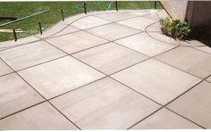 Brushed Concrete Colors | driveways, patios, pool decks and walkways.