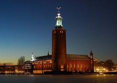 Architect Ragnar Östberg, Stockholm Town Hall, Sweden
