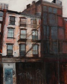 Painter HadasTal. Can you see the influence of San Francisco and New York in her paintings?