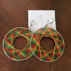 Rasta/Reggae hoop earrings Costume jewelry for pierced ears. Brand new. No trades. Accessories