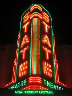 State Theater ~ Detroit, Michigan ~Repinned Via Olga (Owner of DIVE BAR @ SJDiveBar.com)