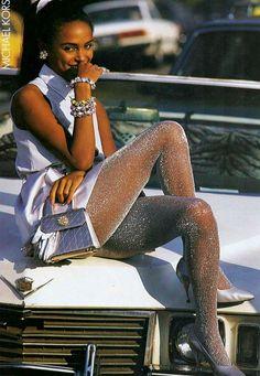 1991 US Elle February ''It's Spring Again!''Michael Kors