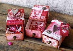 Sizzix Die Cutting Tutorial | Matchbox Valentines by Hilary Kanwischer