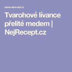 Tvarohové lívance přelité medem | NejRecept.cz