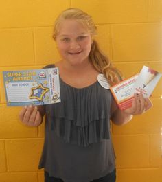 Faith is our Kid of the Day! She enjoys spending her time in the game room playing Foosball.
