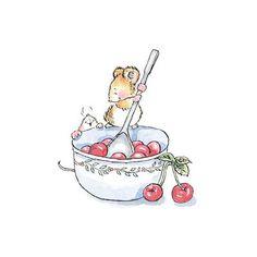 Cute illustrations - Penny Black, Inc. Animal Drawings, Cute Drawings, Maus Illustration, Dibujos Cute, Cute Mouse, Nursery Art, Cute Art, Cute Pictures, Cute Animals