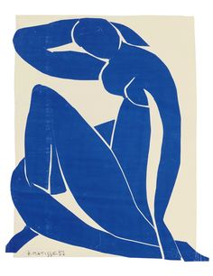 matisse cut outs | The show will include the largest number of Matisse's Blue Nudes ...