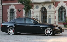 Always arrive in style... Maserati Quatroporte.  This will help as well