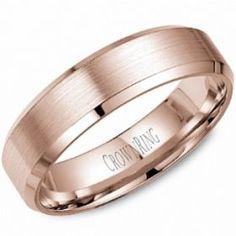 Rose Gold Mens Wedding Bands at Diamore Diamonds Dallas - Rose Gold Wedding Rings Dallas Texas - 14kt Rose Gold Mens Wedding Rings and Bands - 972-503-8882