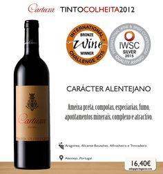 Cartuxa Tinto Colheita 2012 #wine #redwine #vinho #tinto #aragonez #alicantebouschet #alfrocheiro #trincadeira #alentejo #portugal #picoftheday #winelovers #cartuxa #portuguesewine