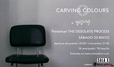CARVING COLOURS - PRESENTACION 2º DISCO MAÑANA SÁBADO EN SALA X